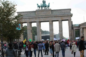 Demo am Brandenburger-Tor